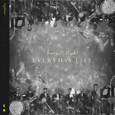Coldplay Everyday Life Cd New Sealed Deluxe Digibook Sunrise Sunset Arabesque