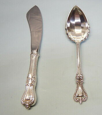 Old Colonial Sterling Silver Sugar & Master Butter-Classic/Unique 1898 Towle