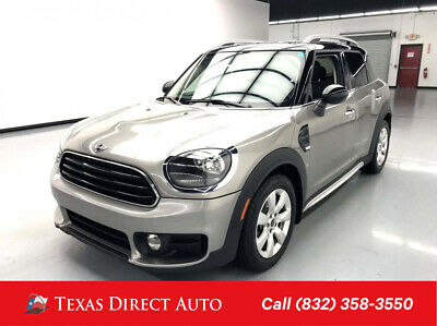 2017 Mini Countryman Cooper Texas Direct Auto 2017 Cooper Used Turbo 1.5L I3 12V Manual FWD SUV Premium