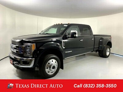 2018 Ford F-450 King Ranch Crew Texas Direct Auto 2018 King Ranch Crew Used Turbo 6.7L V8 32V Automatic 4WD