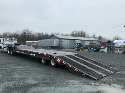 2007 Landoll  48 foot Trailer 12 foot Tilting deck