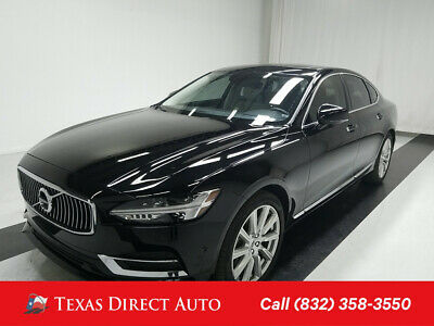 2017 Volvo S90 Inscription Texas Direct Auto 2017 Inscription Used 2L I4 16V Automatic AWD Sedan Premium