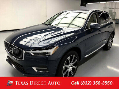 2018 Volvo XC60 Inscription Texas Direct Auto 2018 Inscription Used 2L I4 16V Automatic AWD SUV Premium