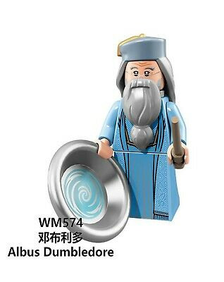 Lego fit mini figures Harry Potter Albus Dumbledore compatible with Lego