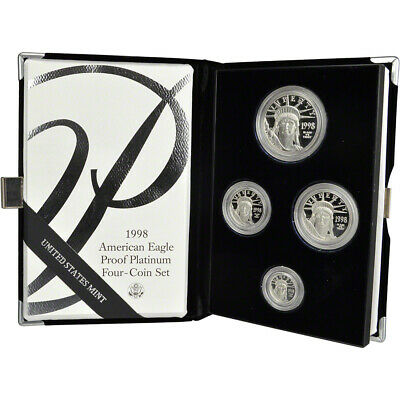 1998-W American Platinum Eagle Proof Four-Coin Set in OGP