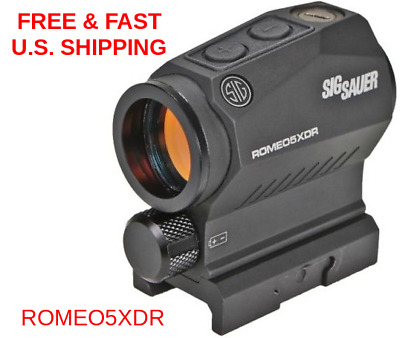 SIG SAUER SOR52102 XDR Romeo5 Compact 2 MOA Red Dot Sight 65 MOA SHOCKPROOF