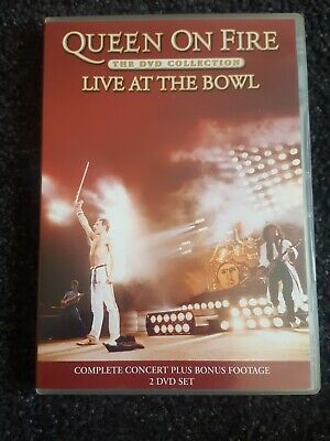 Queen 2Dvd set - Live At The Bowl, free postage