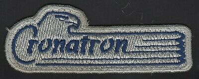 Cronatron Welding Products Patch for Hat Shirt Jacket etc