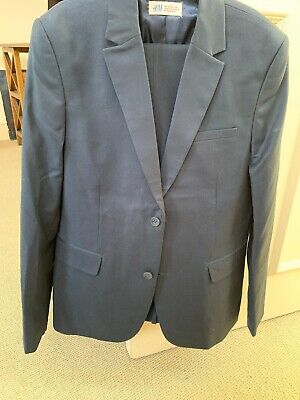BOYS H&M Navy Suit Age 13-14 Years