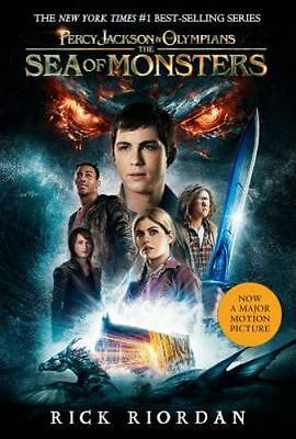 Percy Jackson & the Olympians: The Sea of Monsters Bk. 2 by Rick Riordan (2013,