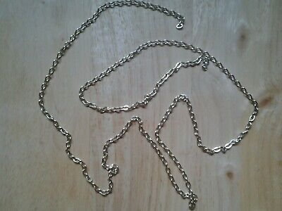 Silver Coloured Handbag Chain Bag/Purse Making 1 metre long
