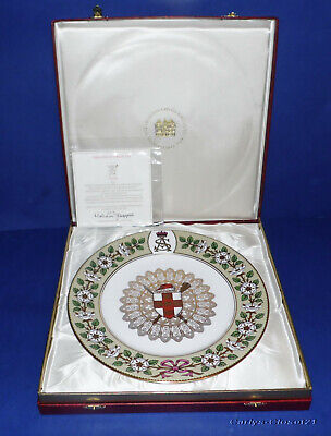MULBERRY HALL * Spode Fine Bone China * The Duke Of York Plate * Limited Edition