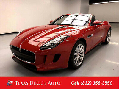 2017 Jaguar F-Type Auto Texas Direct Auto 2017 Auto Used 3L V6 24V Automatic RWD Convertible Premium