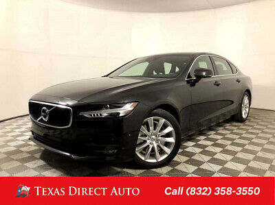 2018 Volvo S90 Momentum Texas Direct Auto 2018 Momentum Used 2L I4 16V Automatic AWD Sedan Premium