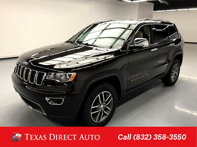 2017 Jeep Grand Cherokee Limited Texas Direct Auto 2017 Limited Used 3.6L V6 24V Automatic 4WD SUV