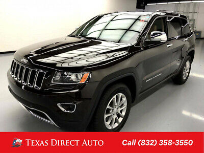 2016 Jeep Grand Cherokee Limited Texas Direct Auto 2016 Limited Used 3.6L V6 24V Automatic RWD SUV