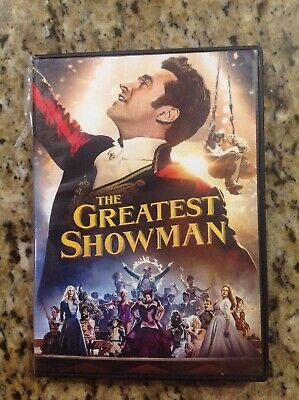 The Greatest Showman (DVD, 2018)Authentic US Release
