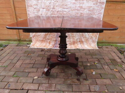 Lovely Antique Victorian Mahogany Twist Top Occasional Games Table.