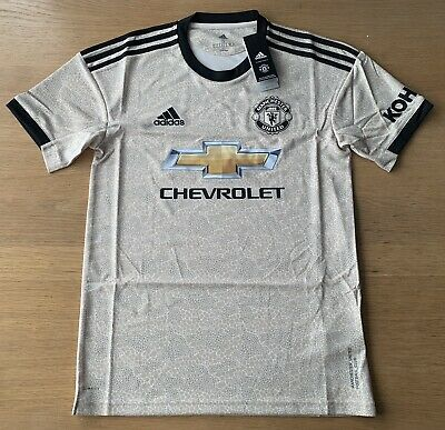 100% Genuine, Manchester United Away Shirt 2019 /20 Mens Small BNWT RRP £64.99