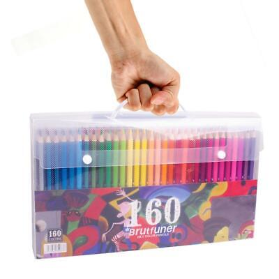 48 72 120 160 Colors Wood Colored Pencils Set Oil Based HB School Drawing Sketch