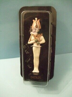 Ancient Egypt Egyptian God  figurines resin statue OSIRIS by HACHETTE