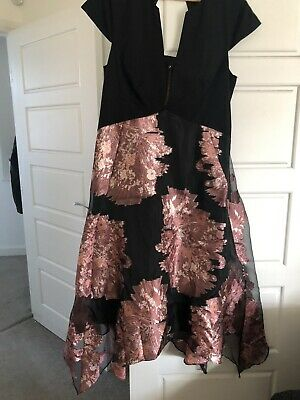 ladies cocktail dress size 18