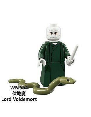 Lego fit mini figures Harry Potter Lord Voldemort compatible with Lego