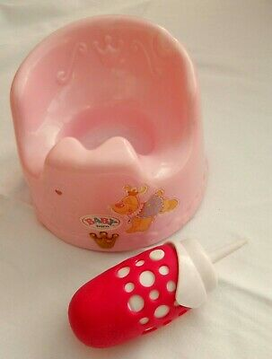 Baby Born Potty & A Feeding Bottle Both With Sounds