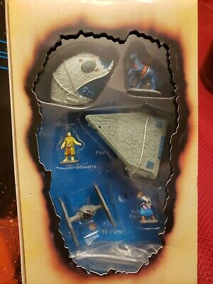 Star Wars Micro Machines Truce at Bakura Book Figures MIB Epic Collection Galoob