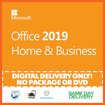 Microsoft Office 2019 Home and Business Product Key 🔐 Activation License