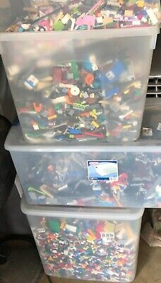 Huge Lego 100 pounds of Lego Bulk Lbs Mixed Themes Legos Lot #2G