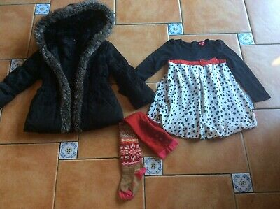 Mustsee Designer * Catimini Winter Coat * Pampolina Dress * Kate Mack Dress 3yr