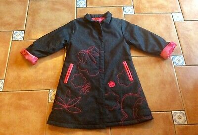 Mustsee Designer * Marese * Oriental Flower Collared Coat * 8yr
