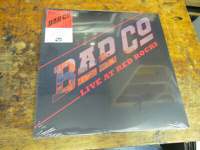BAD COMPANY Live at Red Rocks 2XLP BMG RSD Black Friday NEW Store Stock