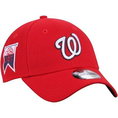 Washington Nationals New Era Game of Thrones 9FORTY Adjustable Hat - Red