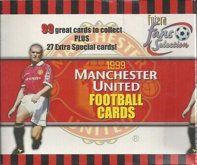 VERY GOOD *PLEASE SELECT* FUTERA MANCHESTER UNITED FANS SELECTION 1999