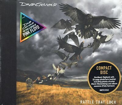 Dave Gilmour (Pink Floyd) - Rattle That Lock (2015 CD) Digipak (New & Sealed)