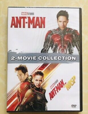 Marvel Lot ANT-MAN 1 2 Antman and the Wasp Movie Collection DVD  Brand  New
