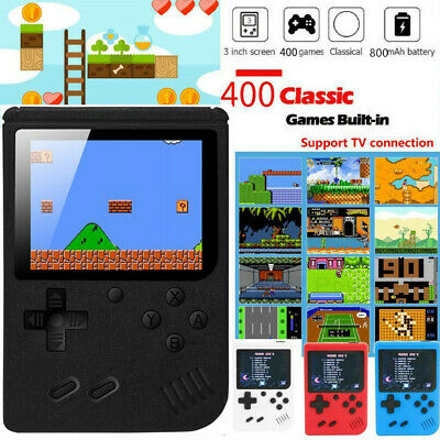 Mini Game Console SUP Built-in 400 Classic Game Handheld Box Game Kid Xmas Gift