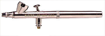 Badger 100 Airbrush fine small gravity feed # 100-3