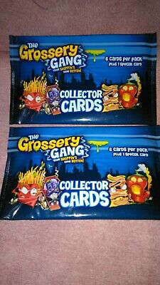 THE GROSSERY GANG TRADING CARDS SILVER FOIL HOLOGRAPHIC CARD #115