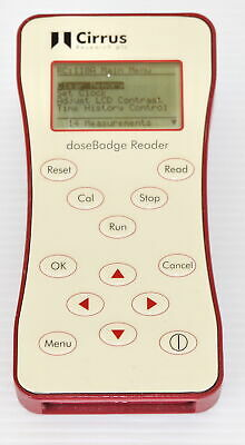 Cirrus Research RC110A Personal Noise Dose Dosebadge Meter Reader