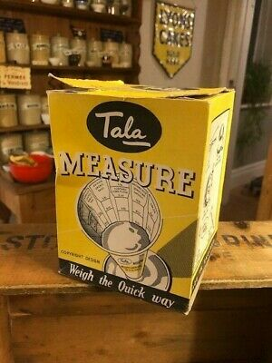 Vintage Tala Cooks / Ingredients Measure – Original Box – Kitchenalia! –
