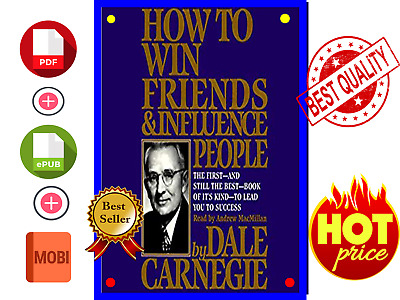 How To Win Friends And Influence People By Dale 🔥{E- Book // P.D.F }🔥