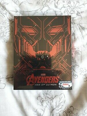 Avengers: Age of Ultron Blu-ray Steelbook Full Slip (Blufans Exclusive) SEALED