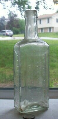 Victorian Medicine Embossed,Dr D Kennedy's Favorite Remedy, Kingston, Ny Usa