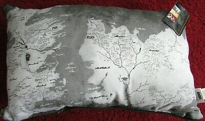 Brand New Primark Hbo Game Of Thrones Map Of Westeros Cushion 50 Cm X 30 Cm