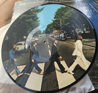 The Beatles : Abbey Road 50th Anniversary Picture Disc (LP, 2019, Ltd Edition)