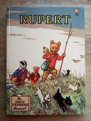 Rupert annual from 1955 unclipped - near fine condition
