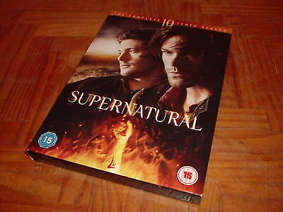 Supernatural The Complete 10 Tenth Season 6 Discs Dvd Horror Series